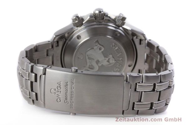 Used luxury watch Omega Seamaster chronograph steel automatic Kal. 1164  | 160296 13