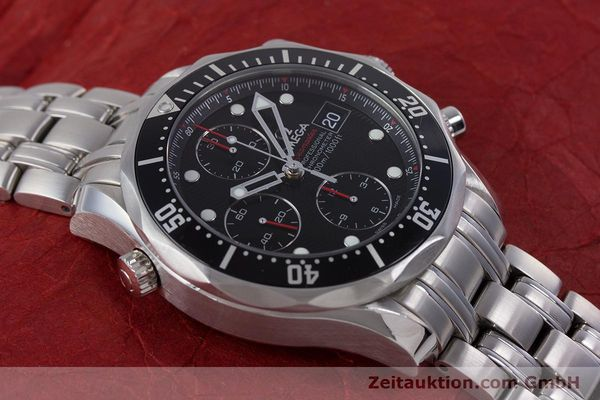 Used luxury watch Omega Seamaster chronograph steel automatic Kal. 1164  | 160296 16