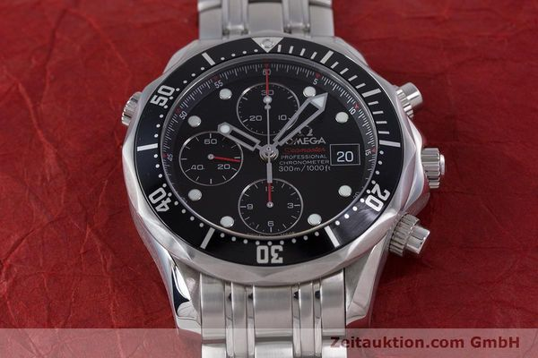 Used luxury watch Omega Seamaster chronograph steel automatic Kal. 1164  | 160296 17