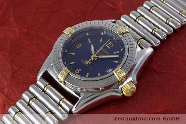 Used luxury watch Breitling Callistino steel / gold quartz Kal. B52 ETA 956112 Ref. B52045.1  | 160301 01