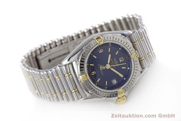 Used luxury watch Breitling Callistino steel / gold quartz Kal. B52 ETA 956112 Ref. B52045.1  | 160301 03