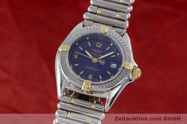 Used luxury watch Breitling Callistino steel / gold quartz Kal. B52 ETA 956112 Ref. B52045.1  | 160301 04