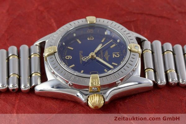 Used luxury watch Breitling Callistino steel / gold quartz Kal. B52 ETA 956112 Ref. B52045.1  | 160301 05
