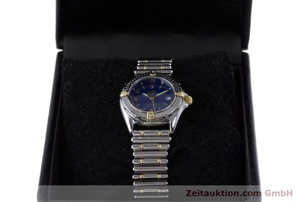 Used luxury watch Breitling Callistino steel / gold quartz Kal. B52 ETA 956112 Ref. B52045.1  | 160301 07