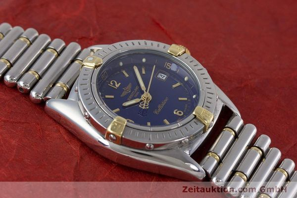 Used luxury watch Breitling Callistino steel / gold quartz Kal. B52 ETA 956112 Ref. B52045.1  | 160301 13