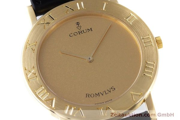 Used luxury watch Corum Romulus 18 ct gold quartz Kal. ETA 210.001 Ref. 50.501.56  | 160304 02