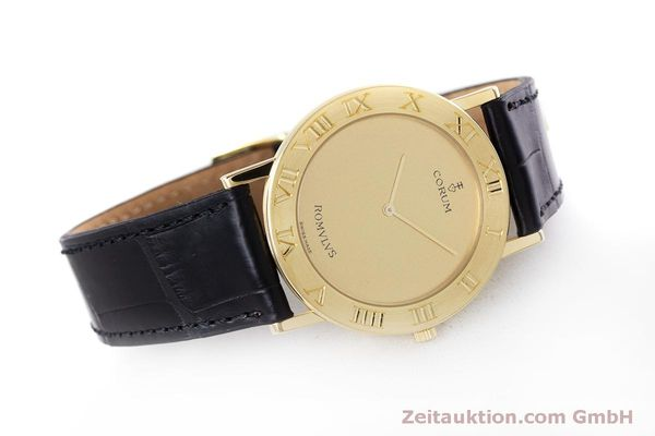 Used luxury watch Corum Romulus 18 ct gold quartz Kal. ETA 210.001 Ref. 50.501.56  | 160304 03