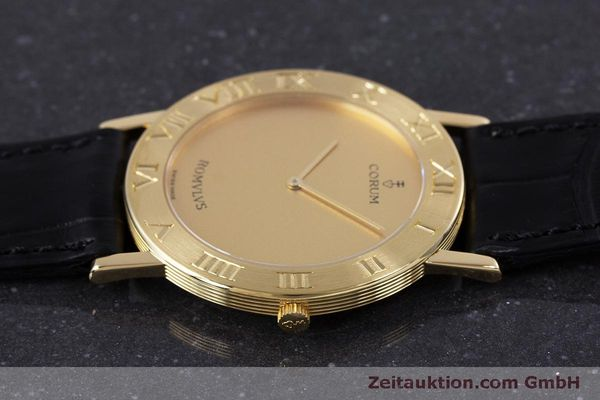 Used luxury watch Corum Romulus 18 ct gold quartz Kal. ETA 210.001 Ref. 50.501.56  | 160304 05