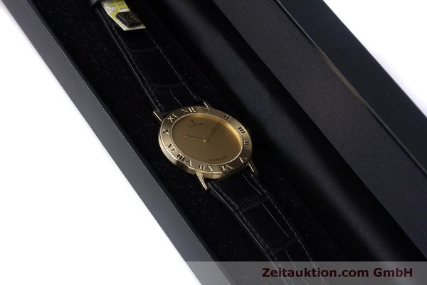Used luxury watch Corum Romulus 18 ct gold quartz Kal. ETA 210.001 Ref. 50.501.56  | 160304 07