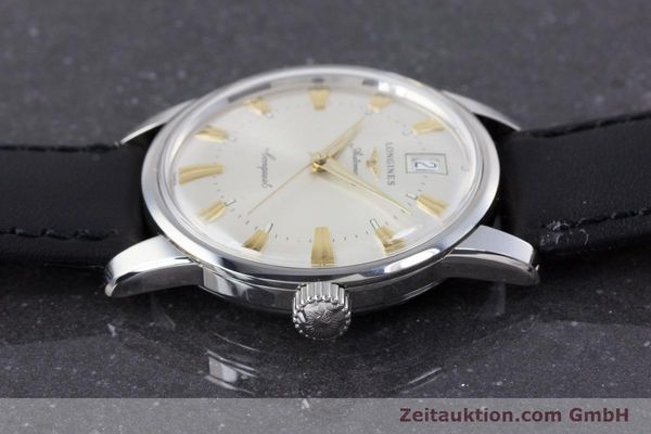 Used luxury watch Longines Conquest steel automatic Kal. L 633.5 ETA 2824-2 Ref. L1.611.4  | 160308 05