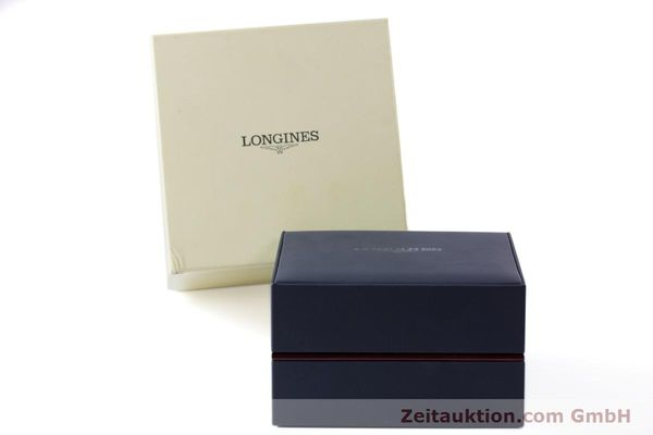 Used luxury watch Longines Conquest steel automatic Kal. L 633.5 ETA 2824-2 Ref. L1.611.4  | 160308 06