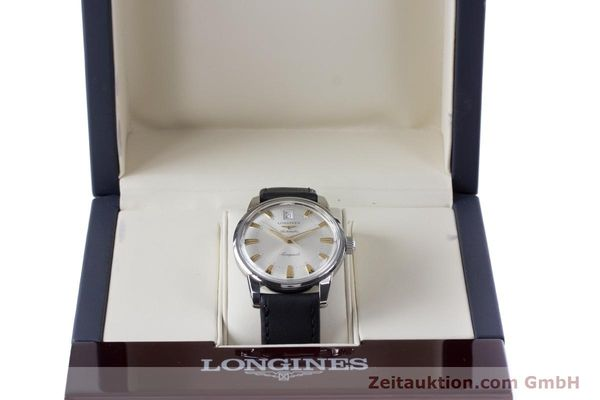 Used luxury watch Longines Conquest steel automatic Kal. L 633.5 ETA 2824-2 Ref. L1.611.4  | 160308 07