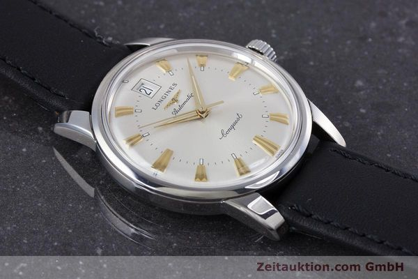 Used luxury watch Longines Conquest steel automatic Kal. L 633.5 ETA 2824-2 Ref. L1.611.4  | 160308 14