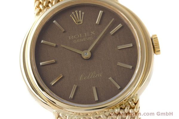 Used luxury watch Rolex Cellini 18 ct gold manual winding Kal. 1600 Ref. 4074  | 160310 02