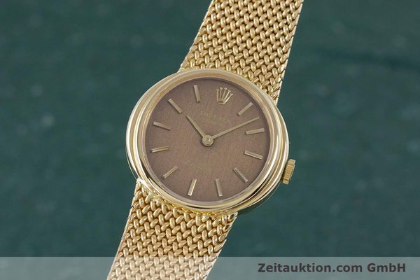 Used luxury watch Rolex Cellini 18 ct gold manual winding Kal. 1600 Ref. 4074  | 160310 04