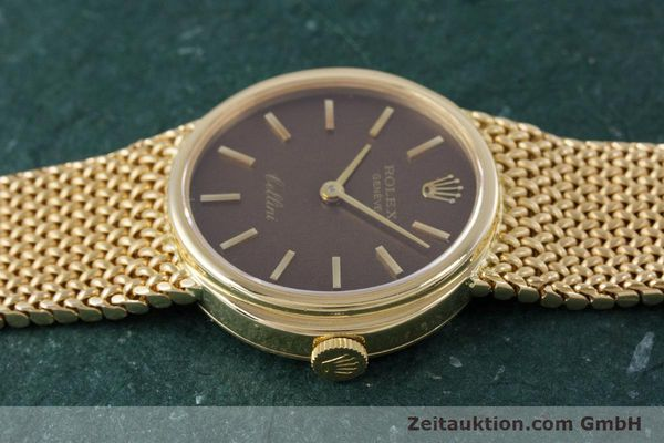 Used luxury watch Rolex Cellini 18 ct gold manual winding Kal. 1600 Ref. 4074  | 160310 05