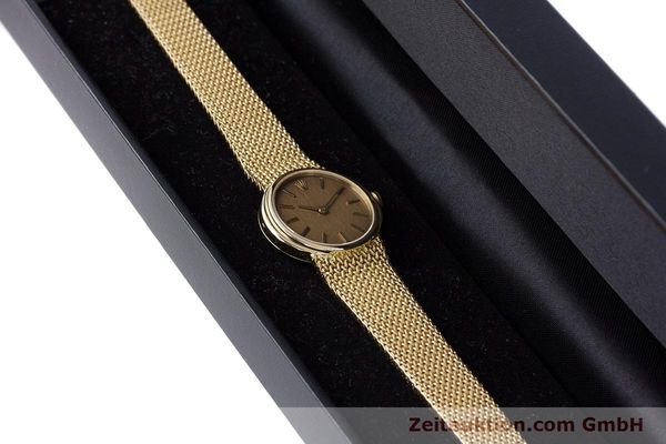 Used luxury watch Rolex Cellini 18 ct gold manual winding Kal. 1600 Ref. 4074  | 160310 07