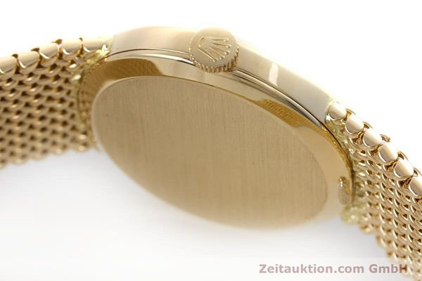 Used luxury watch Rolex Cellini 18 ct gold manual winding Kal. 1600 Ref. 4074  | 160310 11