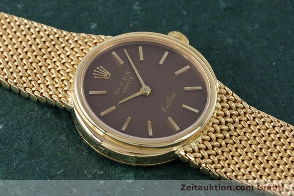 Used luxury watch Rolex Cellini 18 ct gold manual winding Kal. 1600 Ref. 4074  | 160310 15