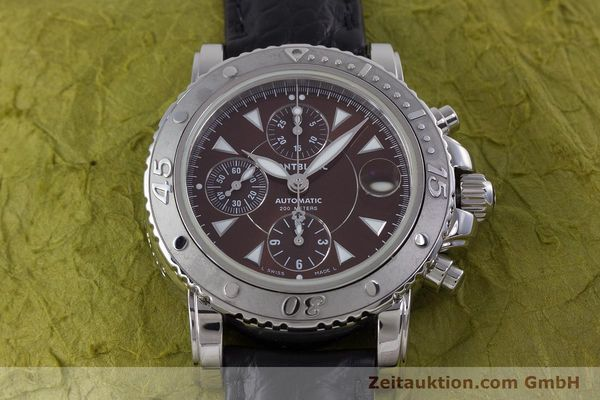 Used luxury watch Montblanc Sport Chronograph chronograph steel automatic Kal. 480501 ETA 7750 Ref. 7034  | 160315 15
