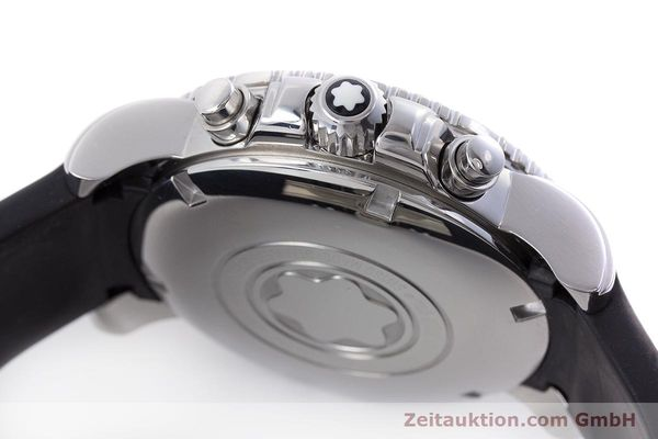 Used luxury watch Montblanc Sport Chronograph chronograph steel automatic Kal. 4810501 ETA 7750 Ref. 7034  | 160316 11