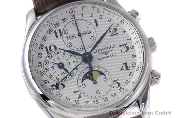 Used luxury watch Longines Master Collection chronograph steel automatic Kal. L678.2 ETA 7751 Ref. L2.673.4  | 160320 02