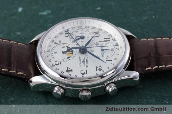 Used luxury watch Longines Master Collection chronograph steel automatic Kal. L678.2 ETA 7751 Ref. L2.673.4  | 160320 05