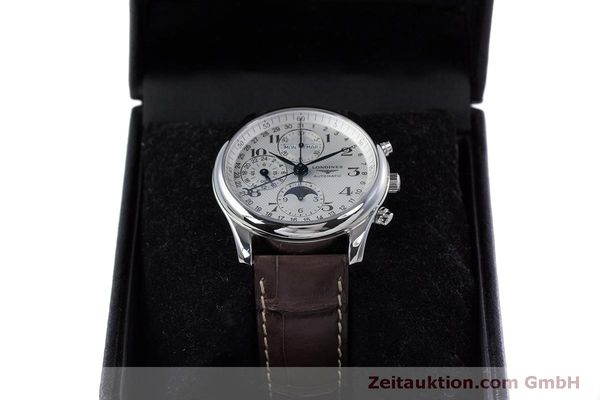 Used luxury watch Longines Master Collection chronograph steel automatic Kal. L678.2 ETA 7751 Ref. L2.673.4  | 160320 07