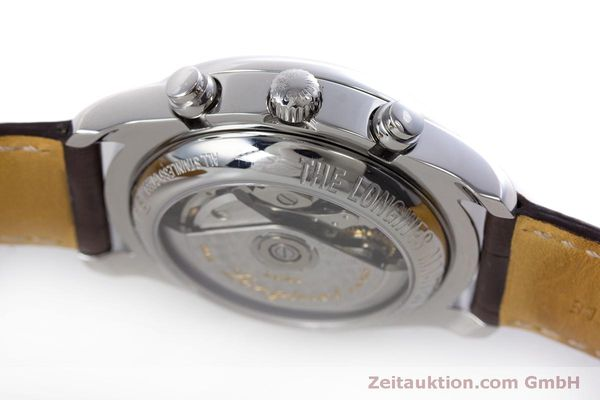 Used luxury watch Longines Master Collection chronograph steel automatic Kal. L678.2 ETA 7751 Ref. L2.673.4  | 160320 08
