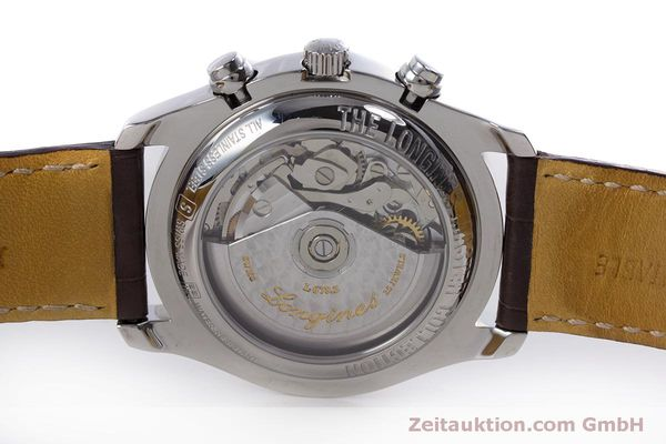Used luxury watch Longines Master Collection chronograph steel automatic Kal. L678.2 ETA 7751 Ref. L2.673.4  | 160320 09
