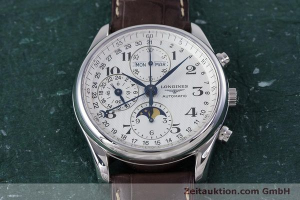 Used luxury watch Longines Master Collection chronograph steel automatic Kal. L678.2 ETA 7751 Ref. L2.673.4  | 160320 16