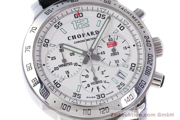 Used luxury watch Chopard Mille Miglia chronograph steel automatic Kal. ETA 2894-2 Ref. 8932 LIMITED EDITION | 160323 02