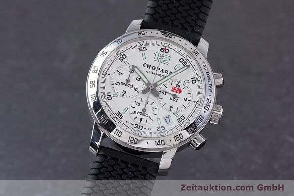 Used luxury watch Chopard Mille Miglia chronograph steel automatic Kal. ETA 2894-2 Ref. 8932 LIMITED EDITION | 160323 04