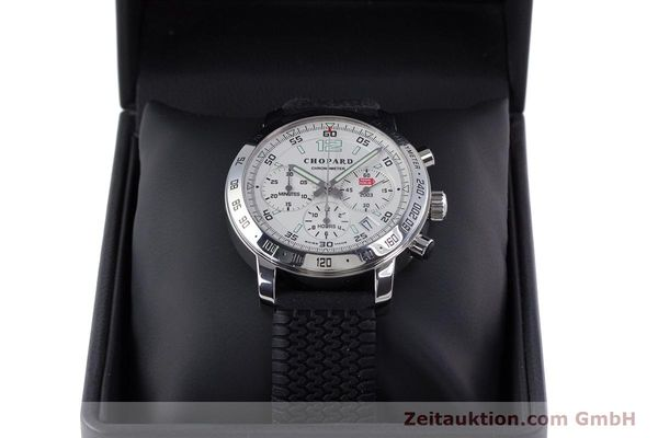 Used luxury watch Chopard Mille Miglia chronograph steel automatic Kal. ETA 2894-2 Ref. 8932 LIMITED EDITION | 160323 07