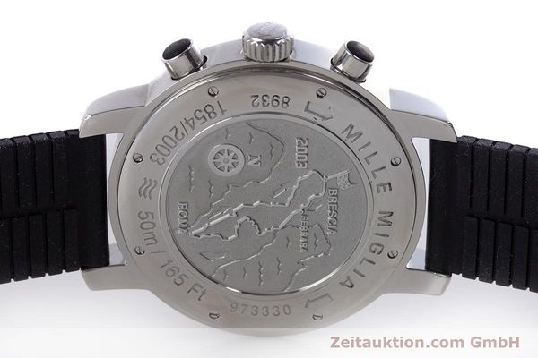 Used luxury watch Chopard Mille Miglia chronograph steel automatic Kal. ETA 2894-2 Ref. 8932 LIMITED EDITION | 160323 09