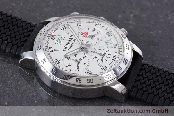 Used luxury watch Chopard Mille Miglia chronograph steel automatic Kal. ETA 2894-2 Ref. 8932 LIMITED EDITION | 160323 12