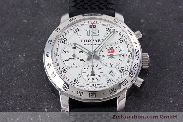 Used luxury watch Chopard Mille Miglia chronograph steel automatic Kal. ETA 2894-2 Ref. 8932 LIMITED EDITION | 160323 13