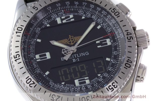 Used luxury watch Breitling B1 chronograph steel quartz Kal. B68 ETA E20.331 Ref. A68362  | 160326 02
