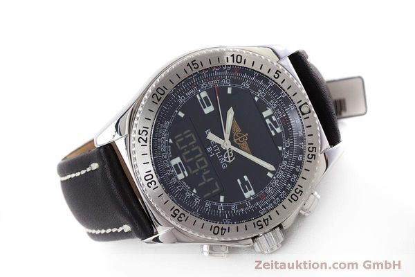 Used luxury watch Breitling B1 chronograph steel quartz Kal. B68 ETA E20.331 Ref. A68362  | 160326 03