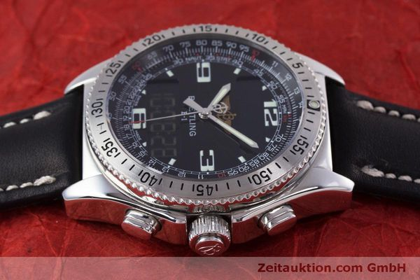 Used luxury watch Breitling B1 chronograph steel quartz Kal. B68 ETA E20.331 Ref. A68362  | 160326 05
