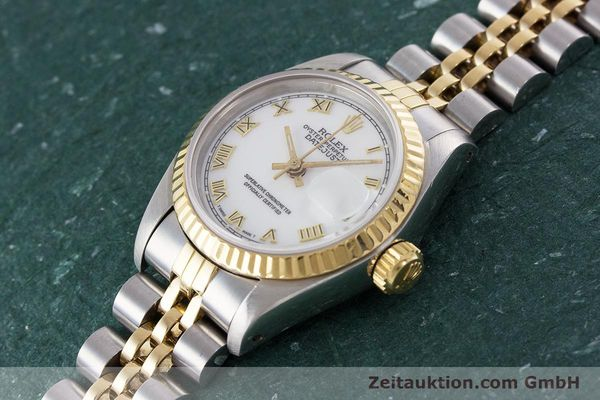 Used luxury watch Rolex Lady Datejust steel / gold automatic Kal. 2135 Ref. 69173  | 160328 01