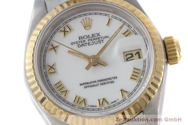 Used luxury watch Rolex Lady Datejust steel / gold automatic Kal. 2135 Ref. 69173  | 160328 02