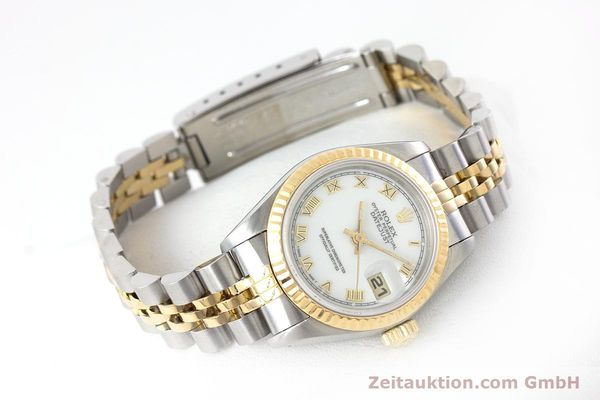 Used luxury watch Rolex Lady Datejust steel / gold automatic Kal. 2135 Ref. 69173  | 160328 03