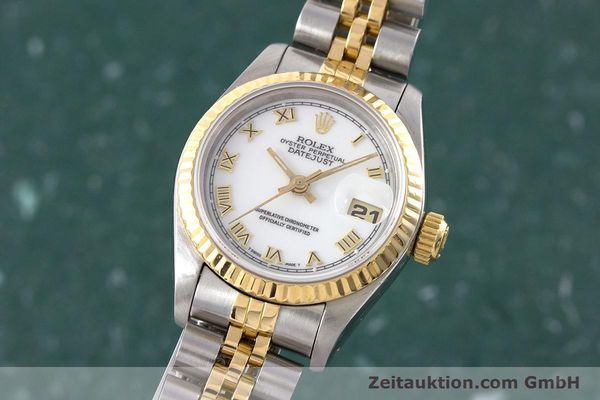Used luxury watch Rolex Lady Datejust steel / gold automatic Kal. 2135 Ref. 69173  | 160328 04