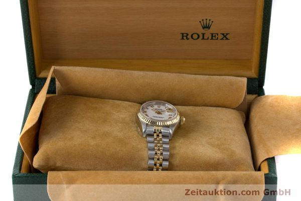 Used luxury watch Rolex Lady Datejust steel / gold automatic Kal. 2135 Ref. 69173  | 160328 07