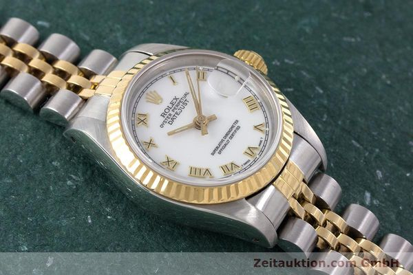 Used luxury watch Rolex Lady Datejust steel / gold automatic Kal. 2135 Ref. 69173  | 160328 15