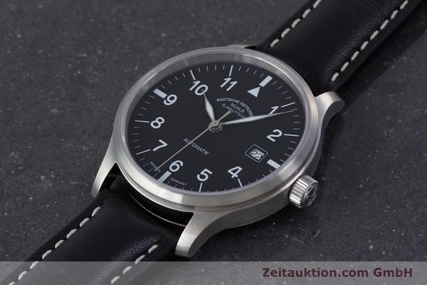 Used luxury watch Mühle Terrasport  steel automatic Kal. Sellita SW200-1 Ref. M1-37-60  | 160331 01
