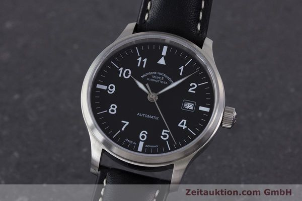 Used luxury watch Mühle Terrasport  steel automatic Kal. Sellita SW200-1 Ref. M1-37-60  | 160331 04