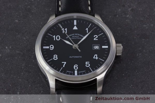 Used luxury watch Mühle Terrasport  steel automatic Kal. Sellita SW200-1 Ref. M1-37-60  | 160331 16