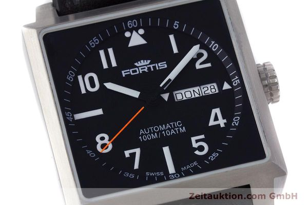 Used luxury watch Fortis Square  steel automatic Kal. ETA 2836-2 Ref. 653.10.158  | 160333 02
